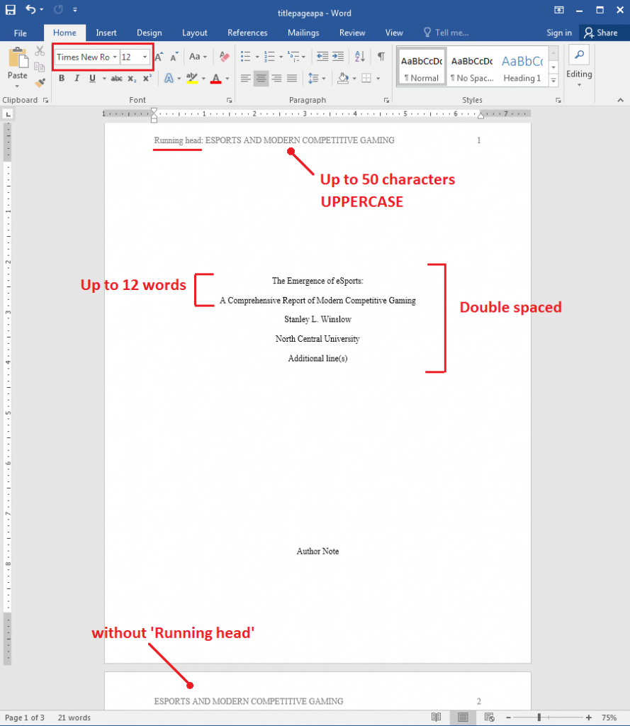 research paper title page  apa vs mla  downloadable templates included